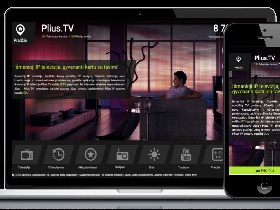 pliusTV atliktas