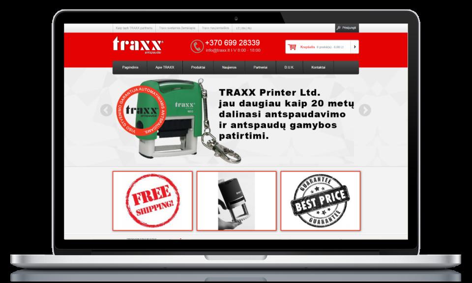 traxx laptop
